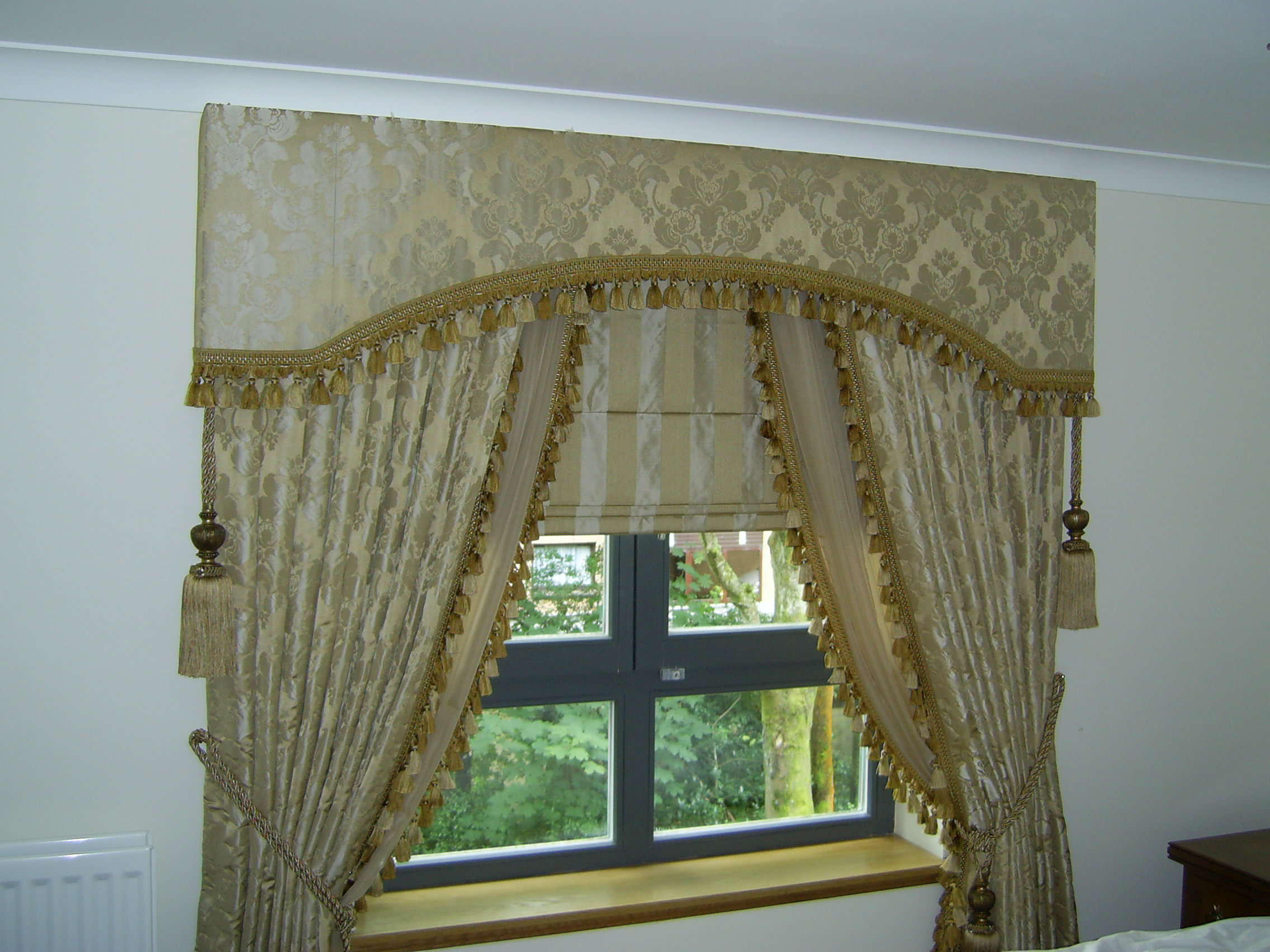 Pelmets for Curtain making service
